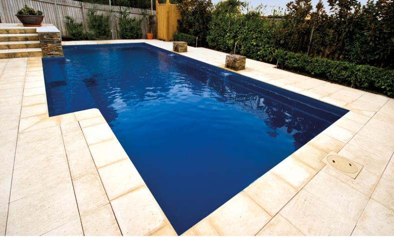 Leisure Elegance Fiberglass Pool Bluewater Swimming Pools